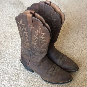 WORN ONCE! Cowgirl boots